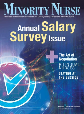 Minority Nurse Summer 2018 Issue by Springer Publishing