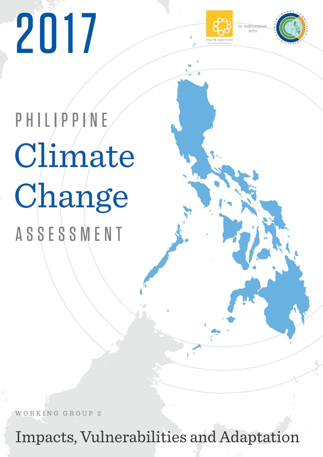 2017 Philippine Climate Change Assessment by Jan-Daniel
