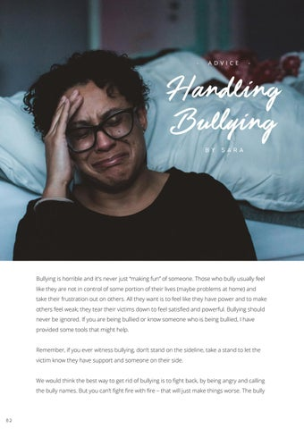 Page 84 of Handling Bullying