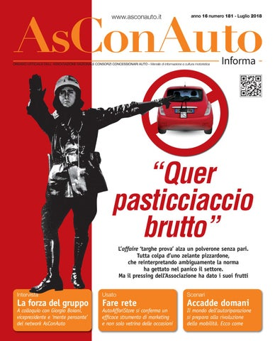 Calendario Datacol 2020.Asconauto Informa Luglio 2018 By Asconauto Informa Issuu