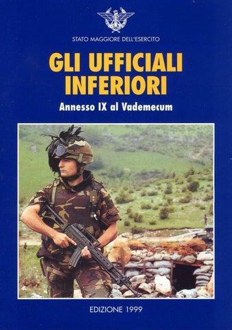 GLI UFFICIALI INFERIORI by Biblioteca Militare - issuu