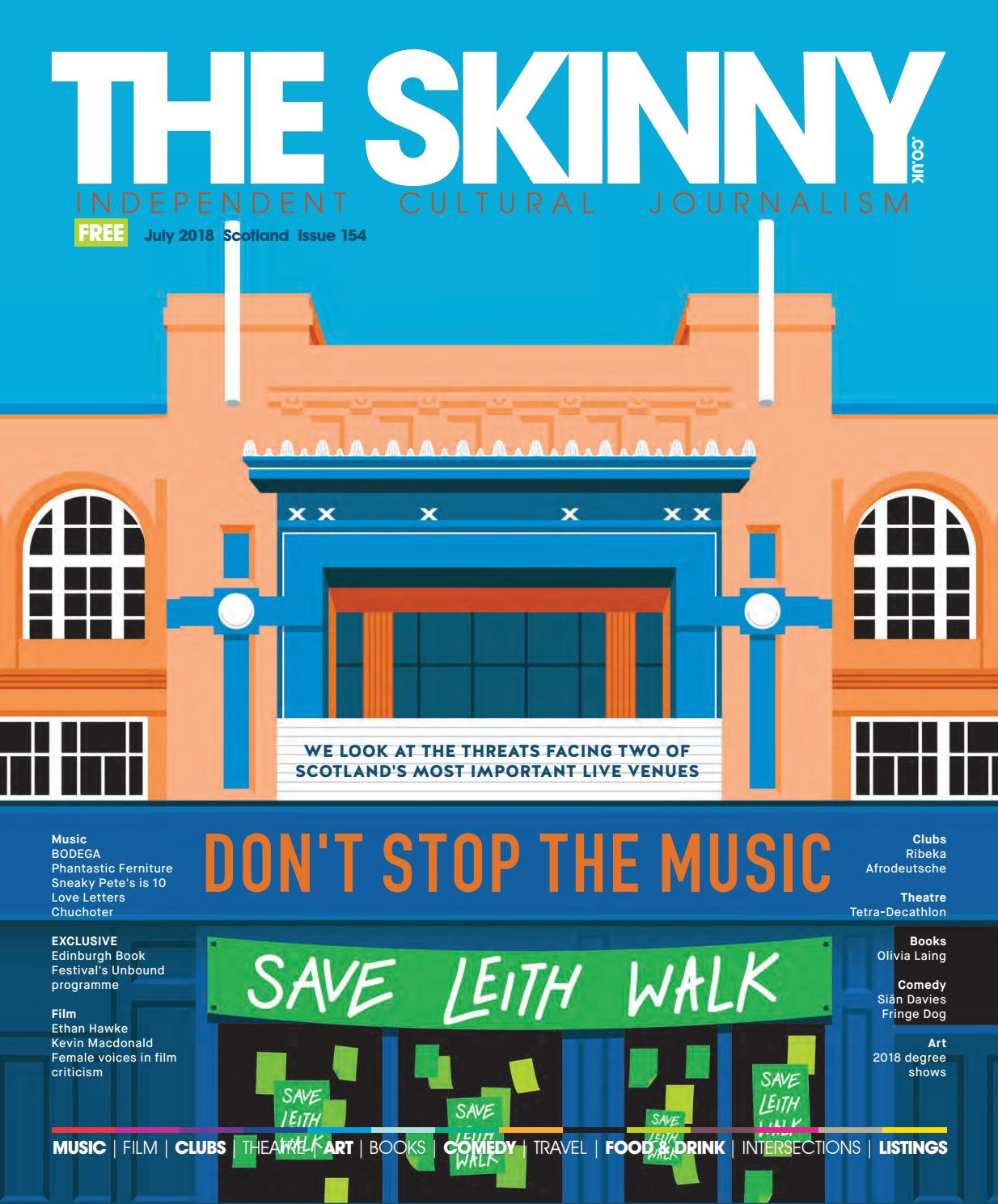 The Skinny July 2018 by The Skinny - issuu