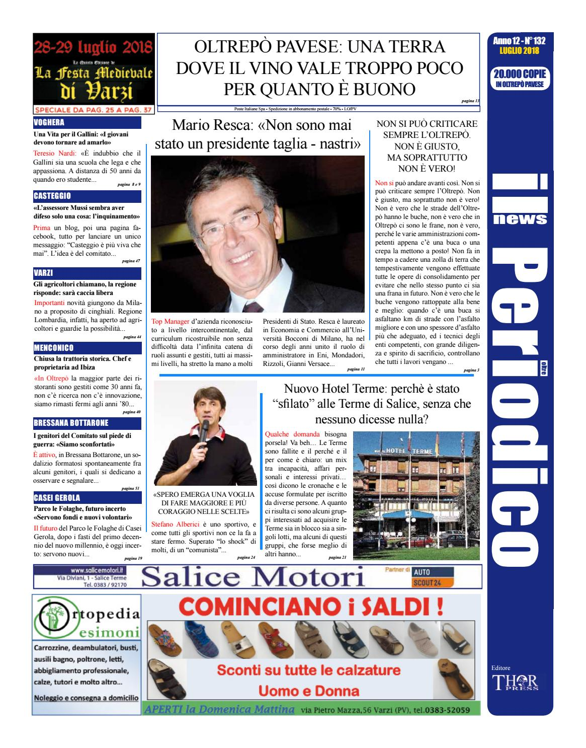 Il Periodico News - LUGLIO 2018 N°132 by IlPeriodicoNews - issuu 374580204893
