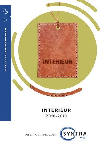 Syntra West interieur najaar 2018 by groepsyntrawest - issuu