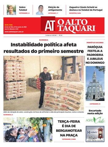 d42cffc64 Jornal O Alto Taquari - 29 de junho de 2018 by Jornal O Alto Taquari ...