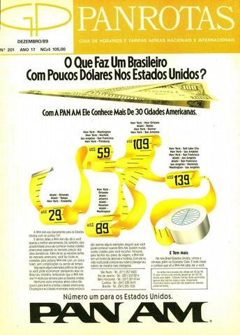 Guia PANROTAS - Edição 201 - Dezembro 1989 by PANROTAS Editora - issuu ec98d86d6de