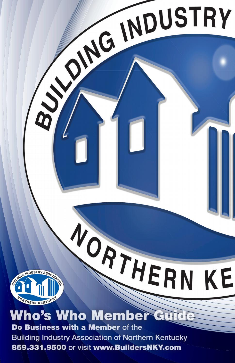 2017-18 Who's Who Member Guide by Home Builders Association of Northern  Kentucky - issuu