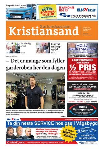 eb6ae9df Sorlandsavisen uke 27 2018 by Tvende Media AS - issuu