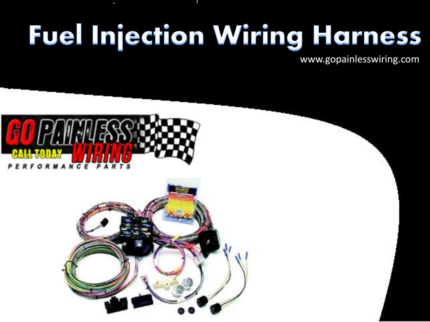 Fuel Injection Wiring Harness By Go Painless Issuu Injector