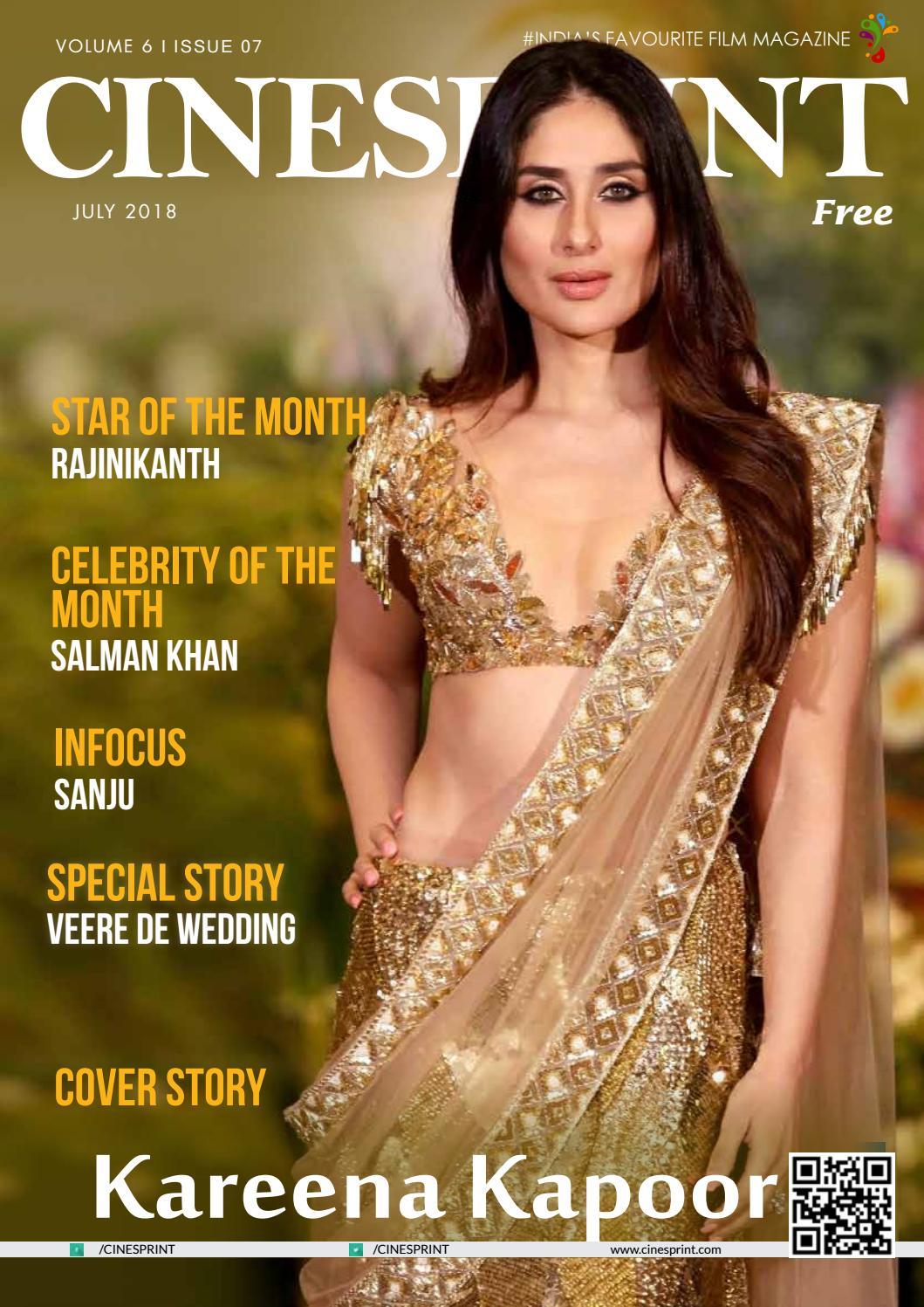 Cinesprint Magazine July 2018 by Wishesh Digital Media Pvt