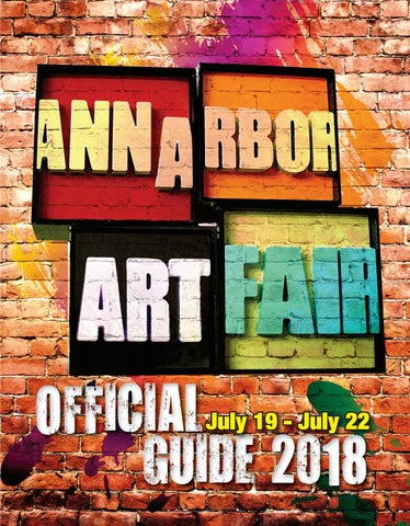 de01040fd Official 2018 Ann Arbor Art Fair Guide by Pakmode Media + Marketing ...