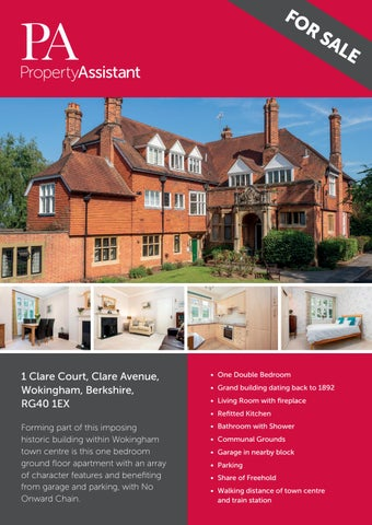 Clare Court, Wokingham - Property Brochure by Property Assistant UK