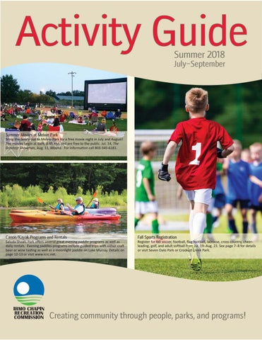 Summer 18 Activity Guide by Irmo Chapin Rec  Comm - issuu