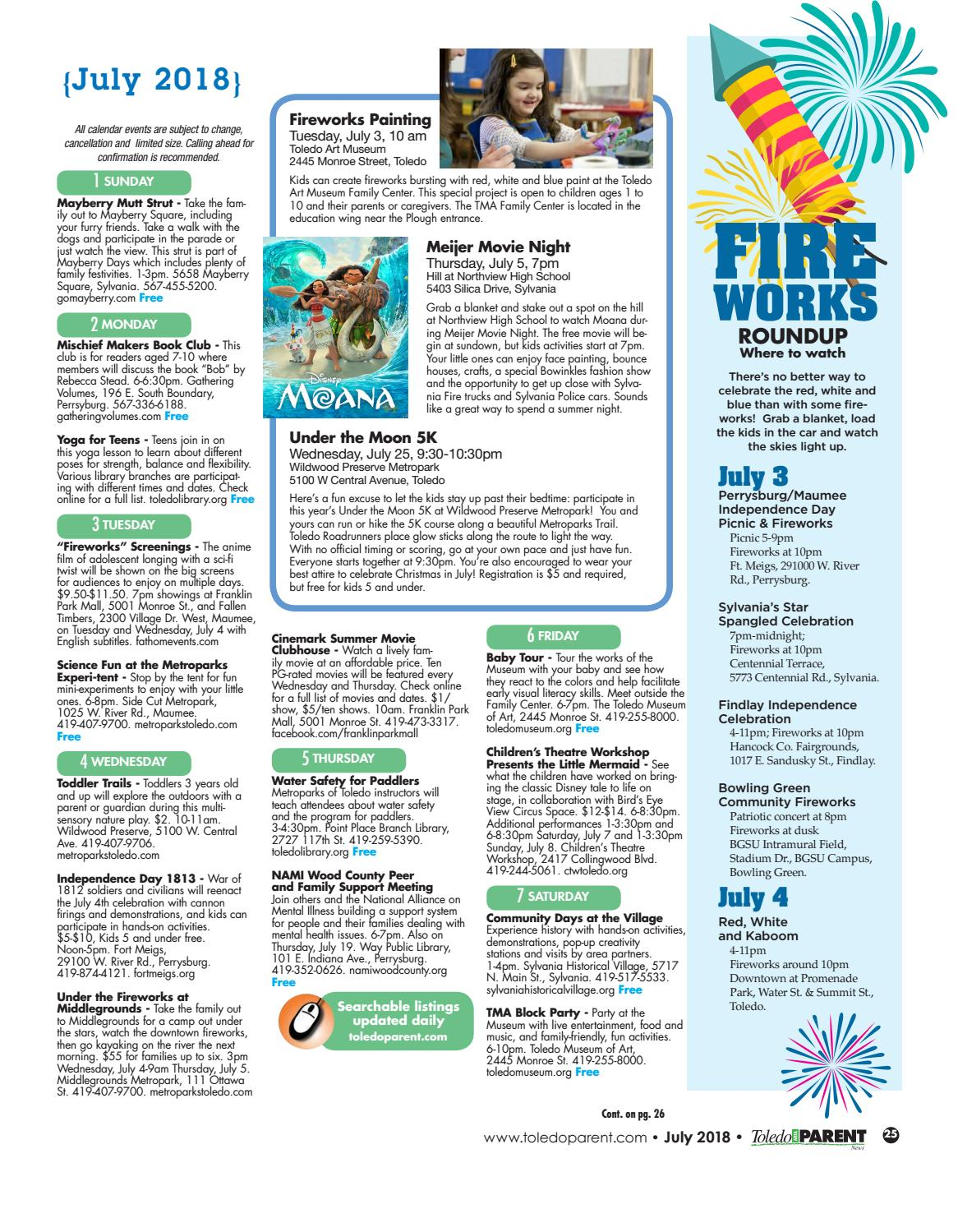 Toledo Area Parent July 2018 By Adams Street Publishing Co Issuu On Electricity It Walks Kids Through The Nature Of And