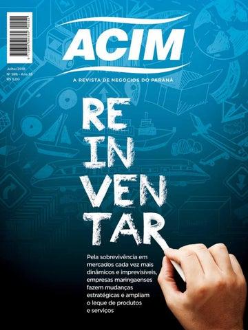 3c697189691d6 Revista ACIM - julho 2018 by Associação Comercial e Empresarial de ...