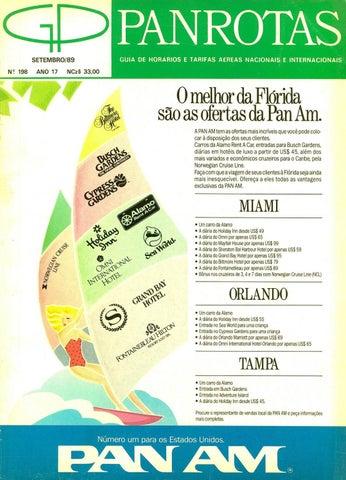 ddf592000c Guia PANROTAS - Edição 198 - Setembro 1989 by PANROTAS Editora - issuu
