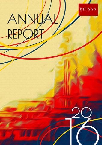 BITSAA Annual report 2016 by BITSAA International - issuu