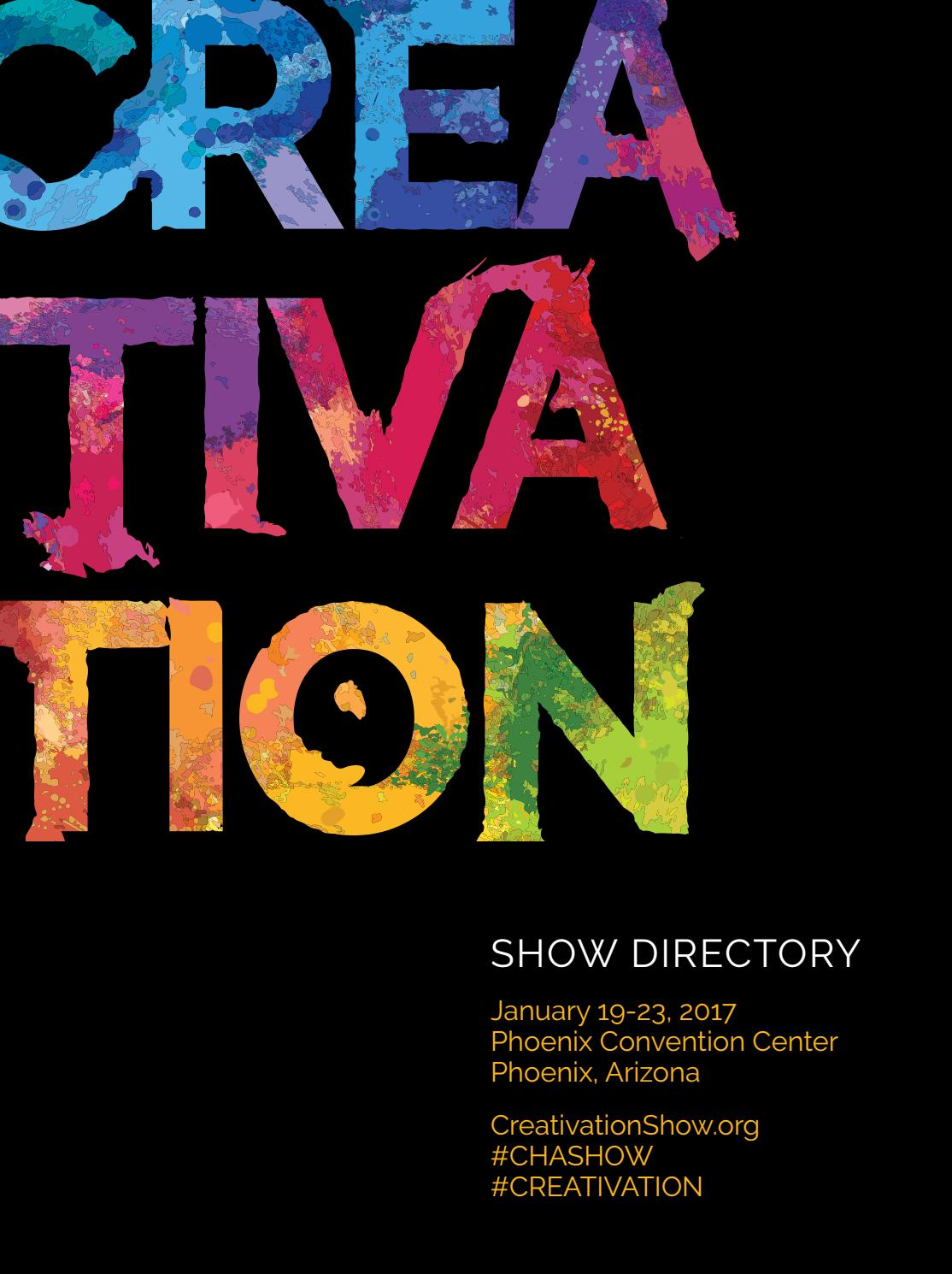 Creativation Show Directory 2017 by Fahy-Williams Publishing