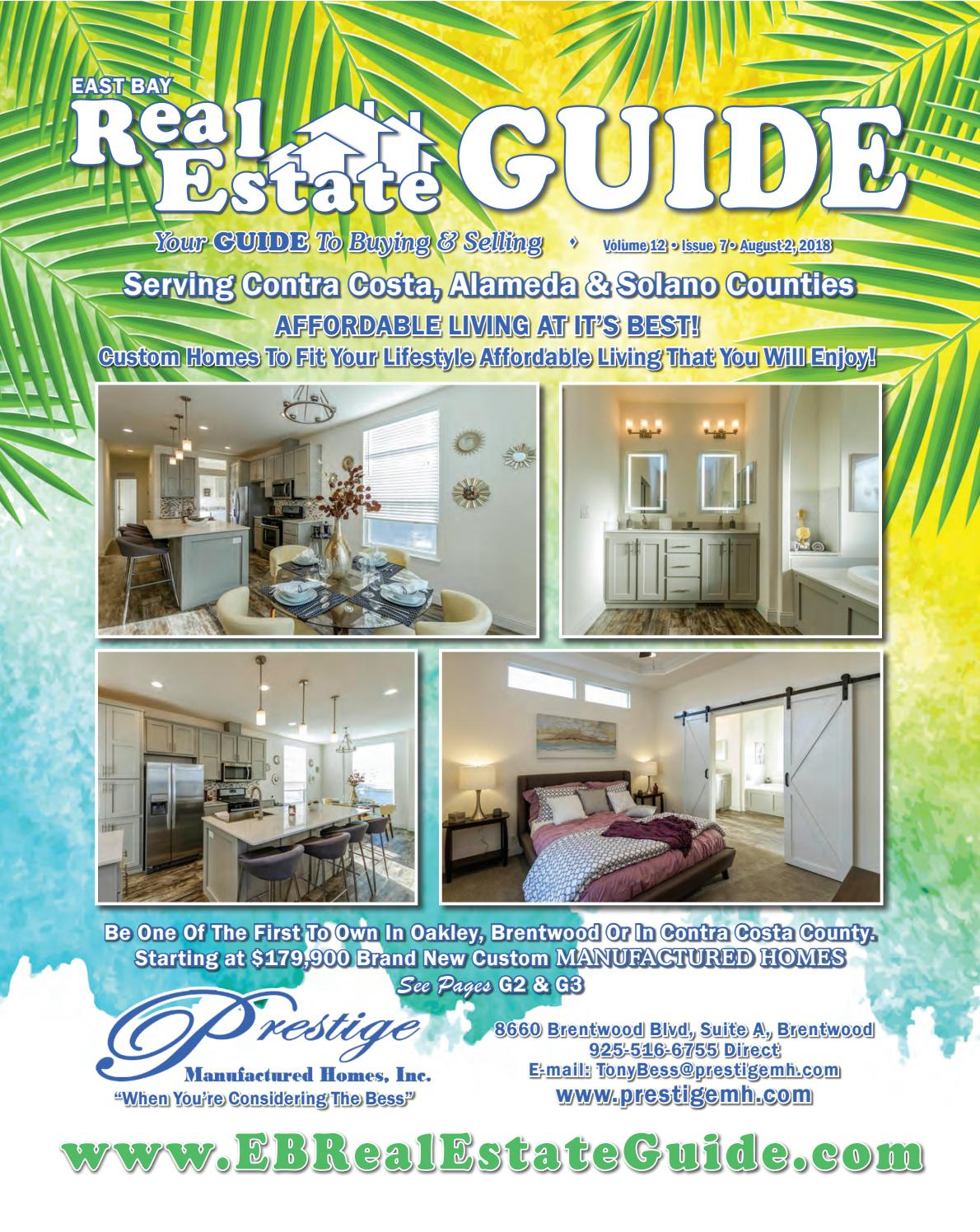 East Bay Real Estate Guide Volume 12 Issue 7 by East Bay Real Estate A Sandalwood Manufactured Home Remodeling on remodeling a rv, remodeling a house, remodeling a boat, small bathroom remodeling mobile home,