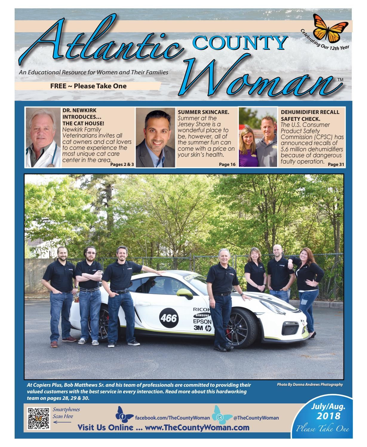 Atlantic County Woman - July/August 2018 by The County Woman