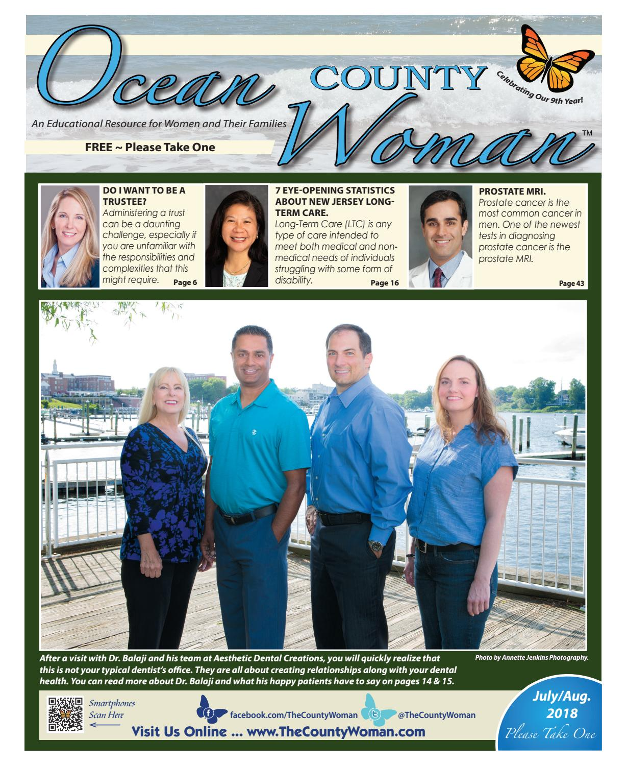 Ocean County Woman - July/August 2018 by The County Woman - issuu