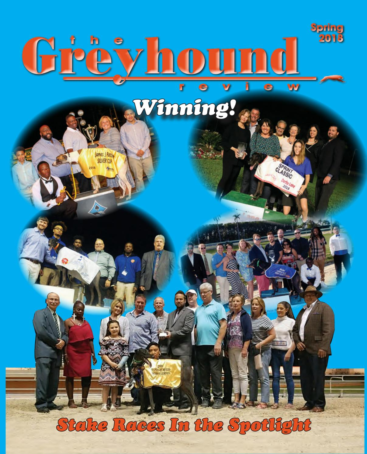 National Greyhound Review - Spring 2018 by Leslie Csokasy