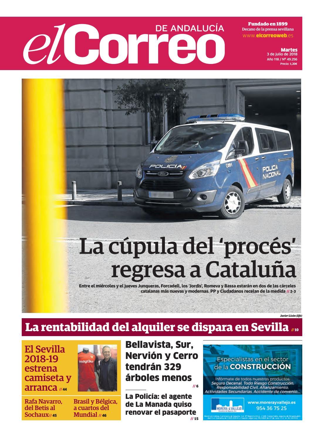 03.07.2018 El Correo de Andalucía by EL CORREO DE ANDALUCÍA S.L. - issuu e96cb2afa2a62