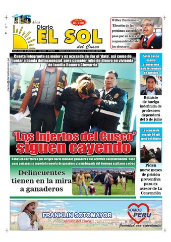 03 07 18 by Diario El Sol del Cusco - issuu