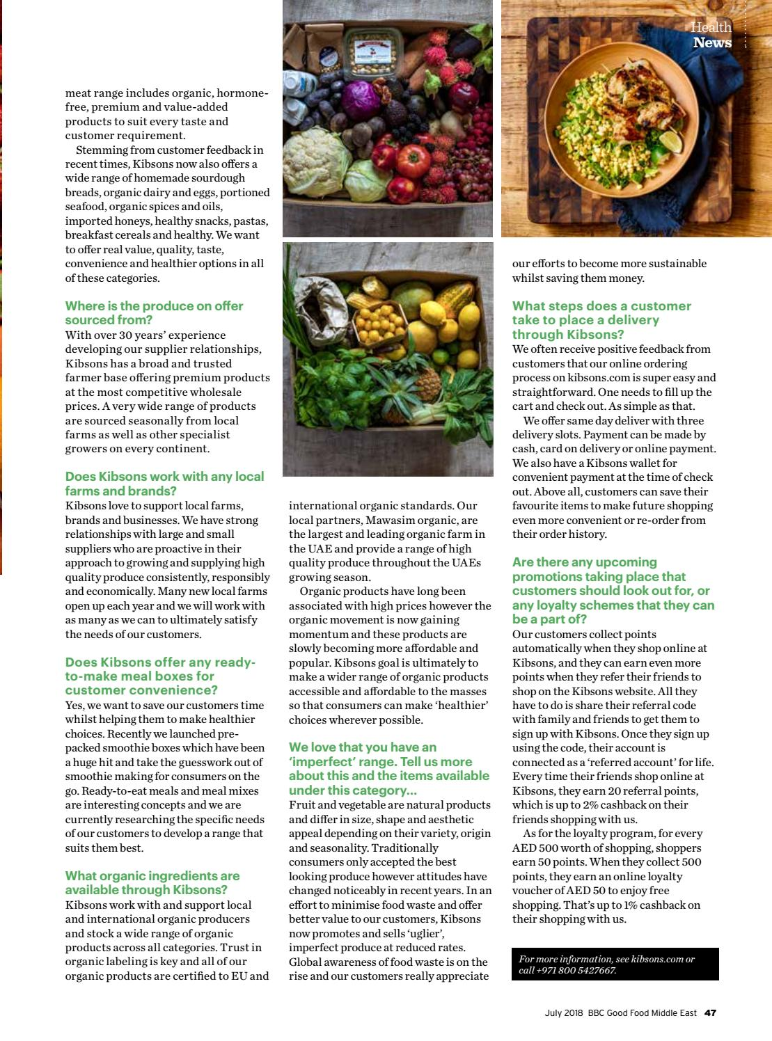 BBC Good Food ME - 2018 July by BBC Good Food Middle East - issuu