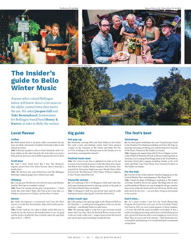Page 44 of The Insider's Guide to Bello Winter Music