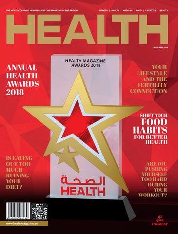 33d07c8c6 Health Magazine March - April 2018 by Health Magazine - UAE - issuu