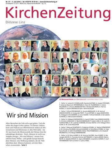 KiZ ePaper Nr. 272018 by KirchenZeitung Diözese Linz issuu