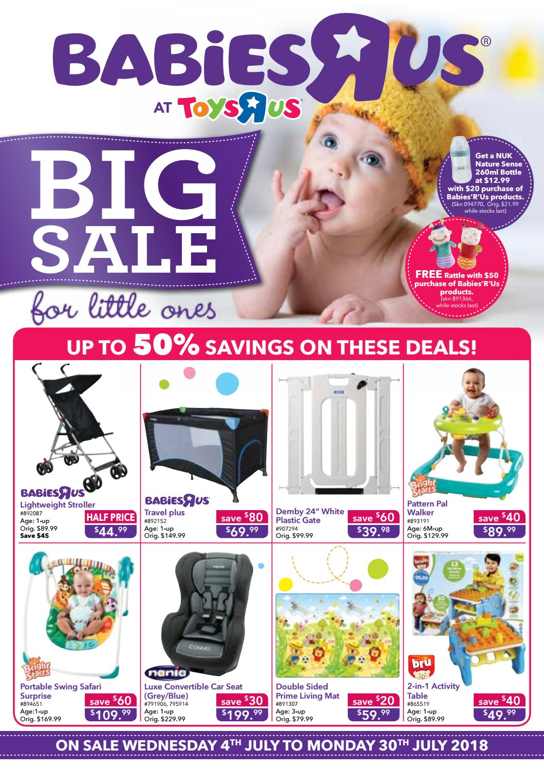 Babies R Us July Catalogue By Toys R Us Singapore Issuu