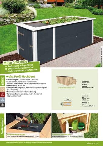 Weka Garten Freizeit By Kaiser Design Issuu