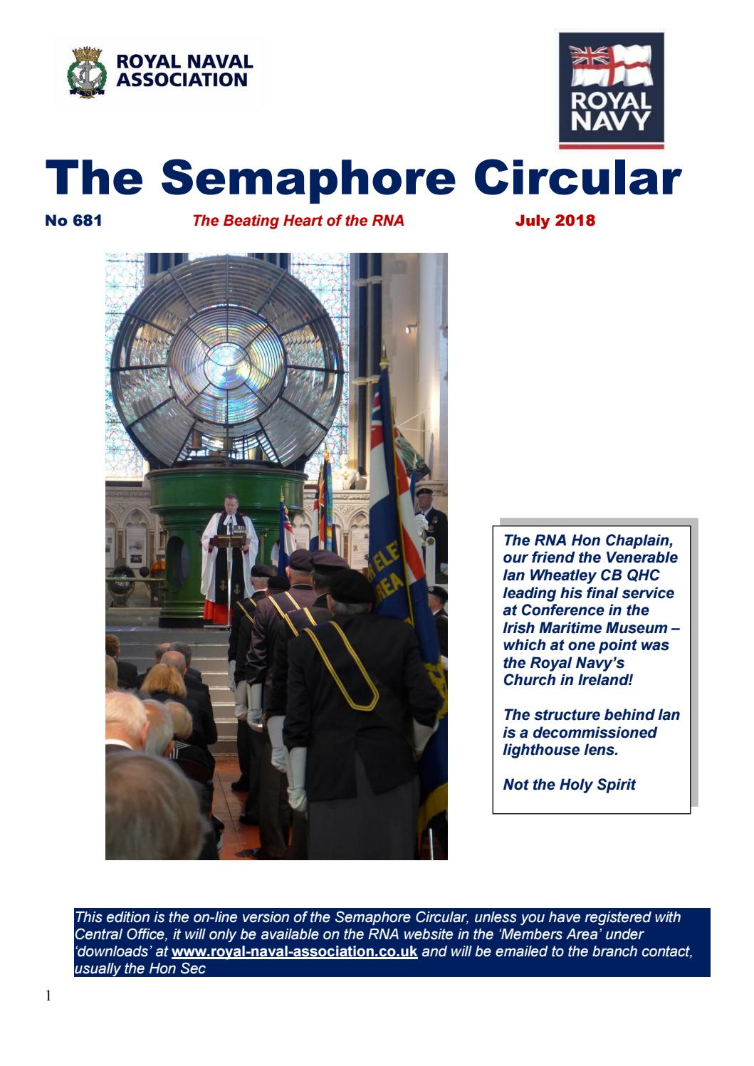 Semaphore Circular #681 (July 2018) by RNA Rayleigh - issuu