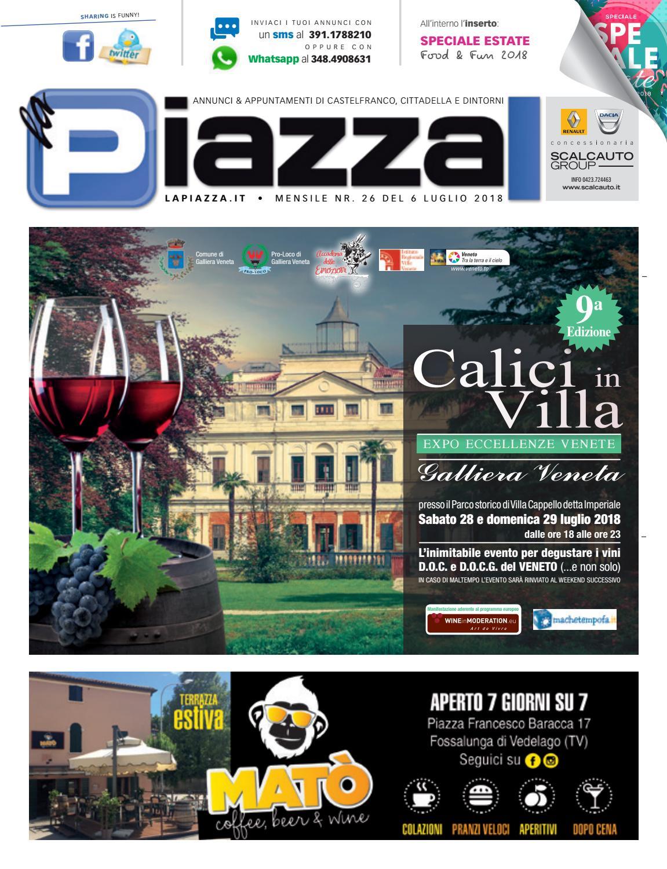 Piazza Piazza Castelfranco La La 26 Piazza Castelfranco 26 La Castelfranco 54LqAS3jcR