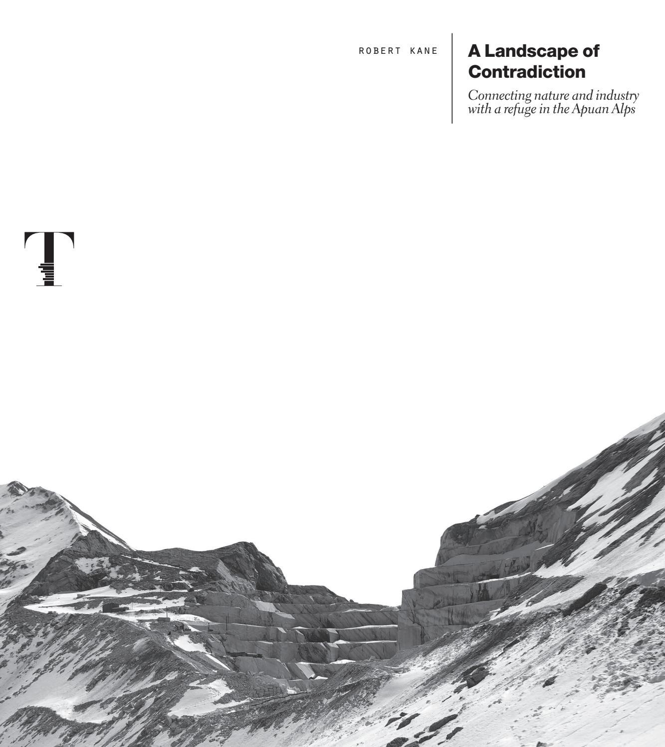 Studio Architettura Paesaggio Milano a landscape of contradiction | robert kane by dida - issuu