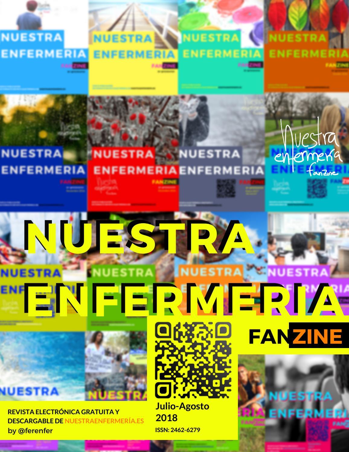 Fanzine Enfermería julio - agosto 2018 by Nuestra Enfermería Fanzine ...