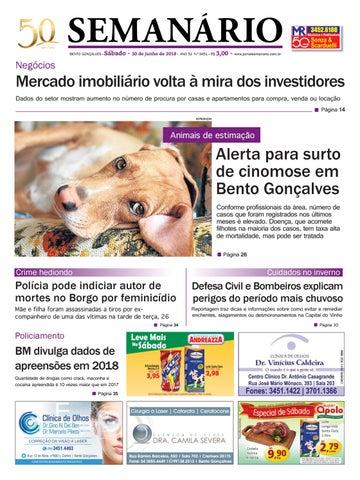 4a102c6c8e Jornal semanário – 30 de junho de 2018 – ano 51 – nº 3450 by Jornal ...