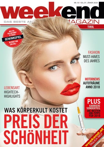 new style 9feff f0315 Weekend Tirol KW042018 by WEEKEND MAGAZIN TIROL - issuu