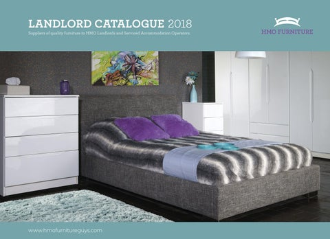 LANDLORD CATALOGUE 2018 Suppliers Of Quality Furniture To HMO Landlords And  Serviced Accommodation Operators.