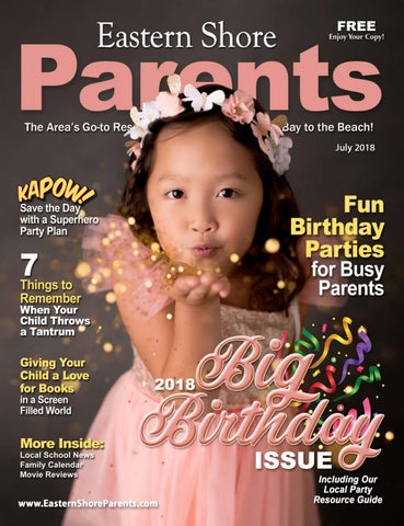 58dddce2 Eastern Shore Parents Magazine July 2018 by KeepSharing - issuu