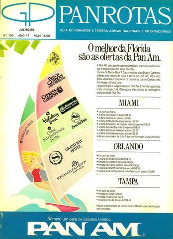 Guia PANROTAS - Edição 196 - Julho 1989 by PANROTAS Editora - issuu e4505749821