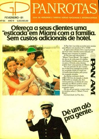 f59ba1210 Guia PANROTAS - Edição 95 - Fevereiro 1981 by PANROTAS Editora - issuu