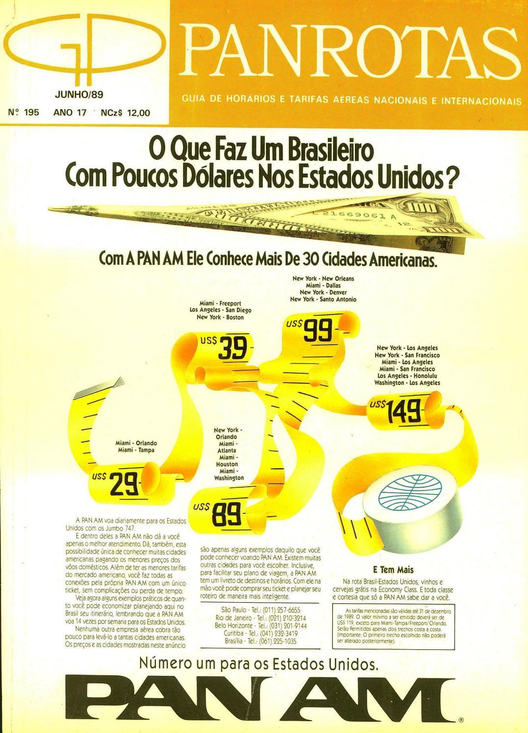 Guia PANROTAS - Edição 195 - Junho 1989 by PANROTAS Editora - issuu 5f46cc1d98c9e
