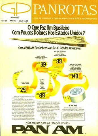 a17969c3b Guia PANROTAS - Edição 195 - Junho 1989 by PANROTAS Editora - issuu
