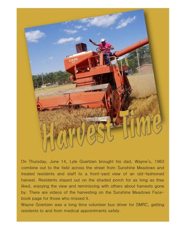 Page 2 of Harvest Time