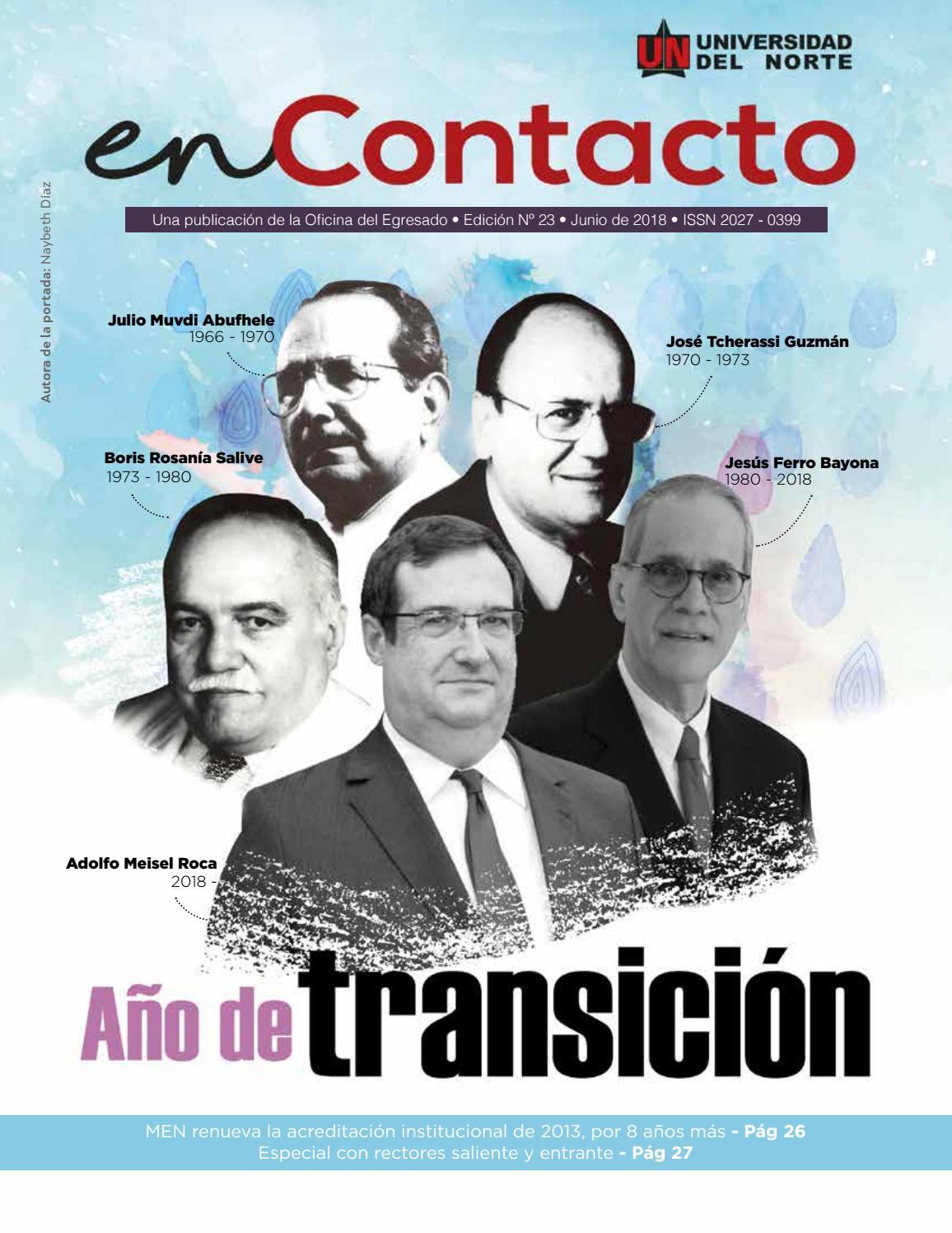 Revista enContacto 23 by Egresado Uninorte - issuu