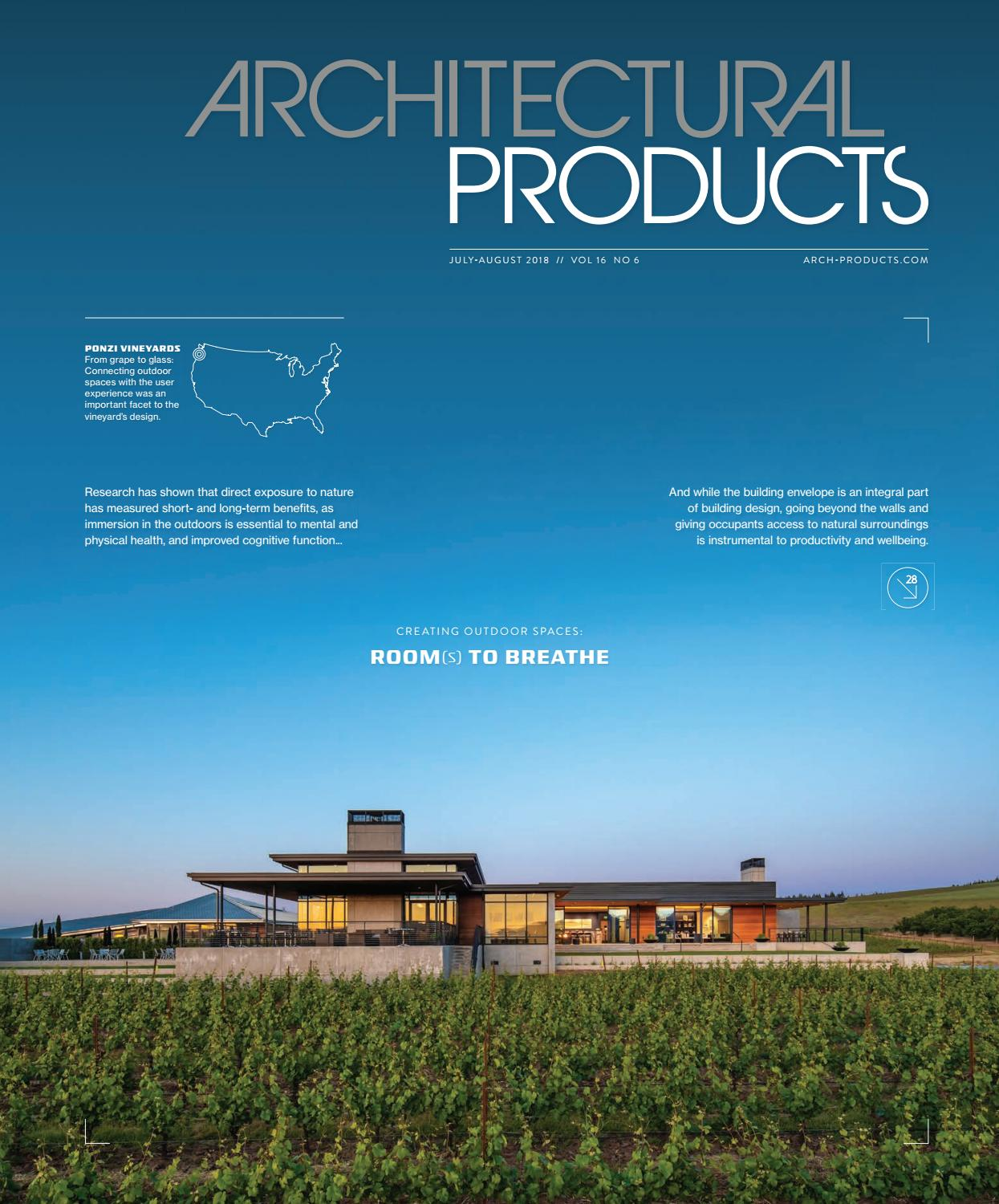 Architectural Products July August 2018 By Construction Business Printed Circuit Board Prototype Product Photosprinted Media Issuu