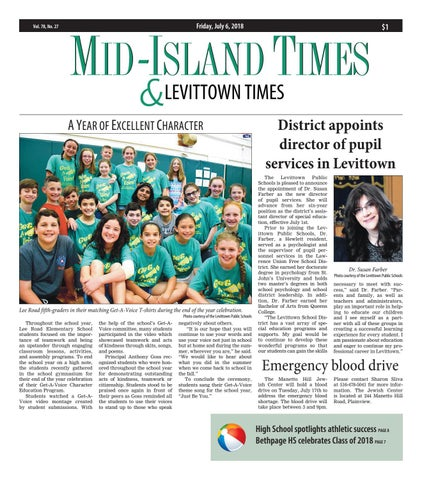 Mid-Island Times & Levittown News (7/6/18) by Litmor